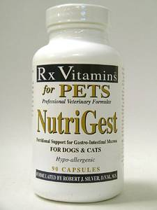 NutriGest for Dogs & Cats Caps 90 caps