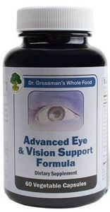 Advanced Eye & Vision Support Formula (whole food) 60 vcaps