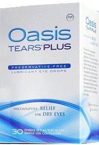 Oasis Tears Plus Eye Drops  - 30 count