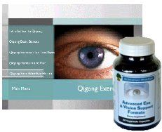 Advanced Eye and Vision Support Formula and Eye Exercise DVD Combo