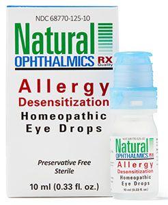 Allergy Desensitization Homeopathic Eye Drops 10ml per bottle