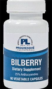 Bilberry 60 vegcaps 495mg per capsule