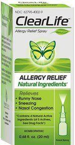 Clear Life Allergy Relief (LUFFELL) Nasal Spray 20 ml