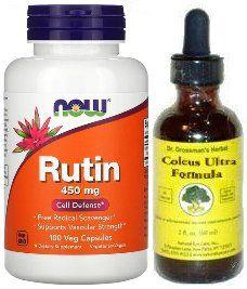Dr. Grossman's Coleus Ultra and Rutin Combo