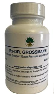 Dr. Grossman's Eye Pressure Support Ease Formula With Mirtogenol Plus (vegetarian capsules)