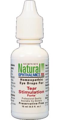 Tear Stimulation Forte Homeopathic Eyedrops