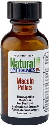 Macula Support Homeopathic Pellets