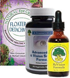Natural Eye Care Series: Floaters and Detachments/Nutrient Combo