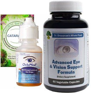 Natural Eye Care Series: Cataracts and Lens Support Package
