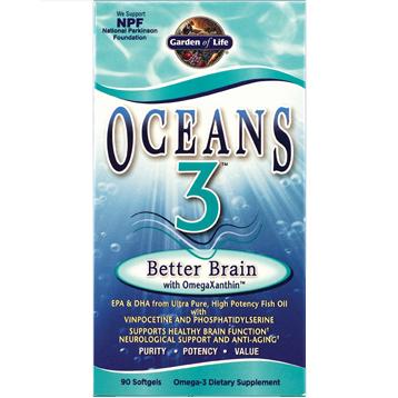 Oceans 3™ - Better Brain 90 gels