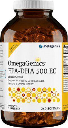 OmegaGenics EPA-DHA 500 Enteric 240 gels