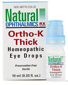 Ortho K Thick (Nighttime) Homeopathic Eyedrops 10ml per bottle