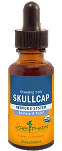 Skullcap 1 oz (organic)