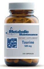 Taurine 500 mg 100 caps