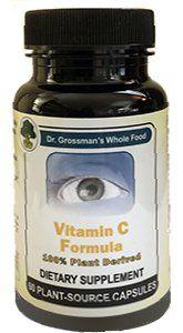 Vitamin C, Dr. Grossman's Plant-Based Formula - 60 caps