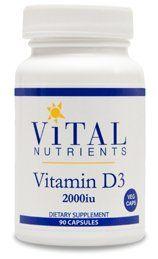 Vitamin D3 2000 IU 90 vcaps